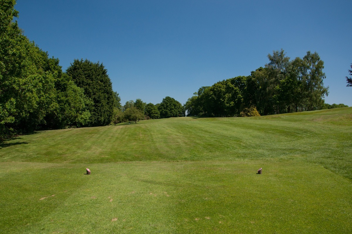Tenterden Golf Club Hole 1 Tee