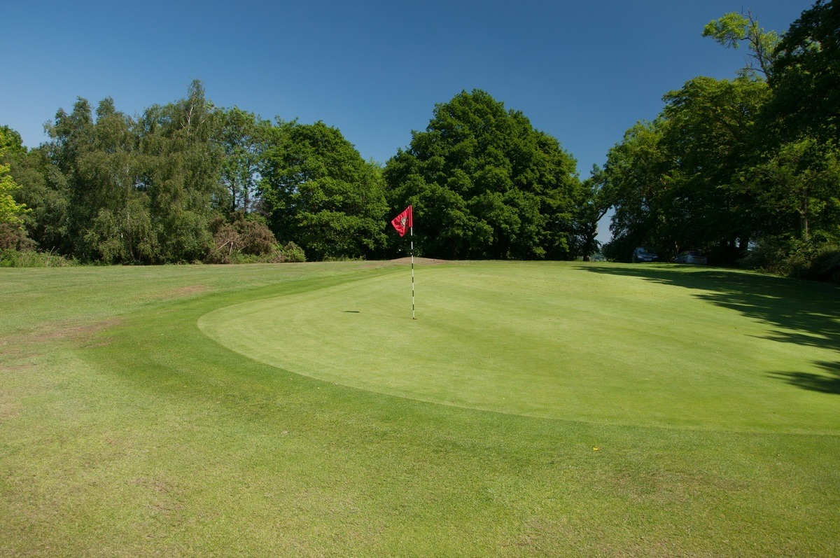 Tenterden Golf Club Hole 1 Green