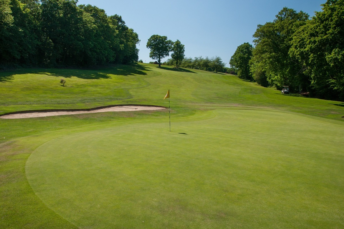 Tenterden Golf Club Hole 10 Green