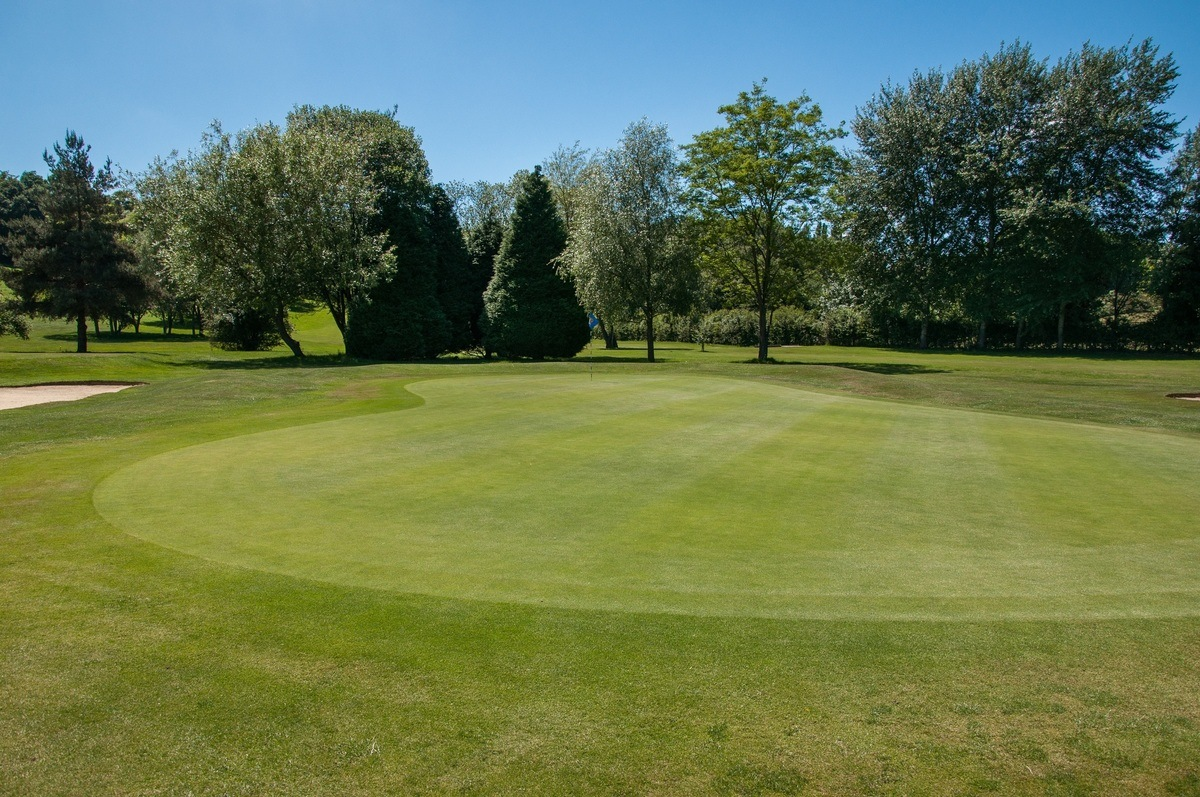 Tenterden Golf Club Hole 14 Green