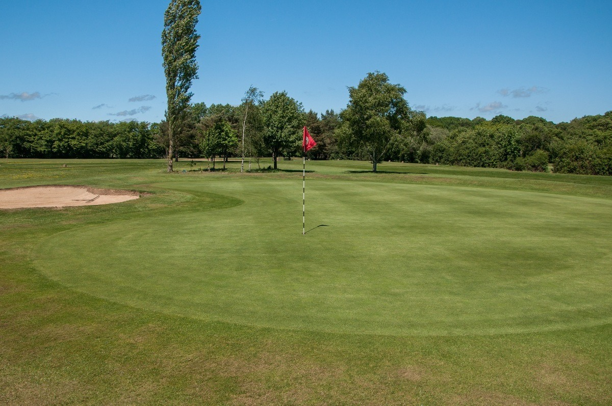 Tenterden Golf Club Hole 15 Green
