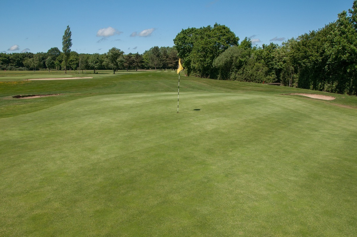 Tenterden Golf Club Hole 16 Green