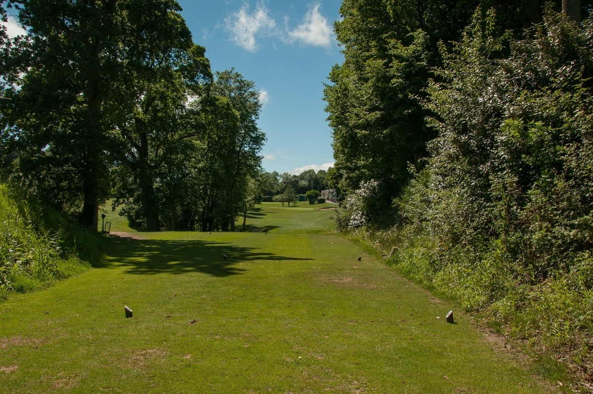 Tenterden Golf Club Hole 18 Tee