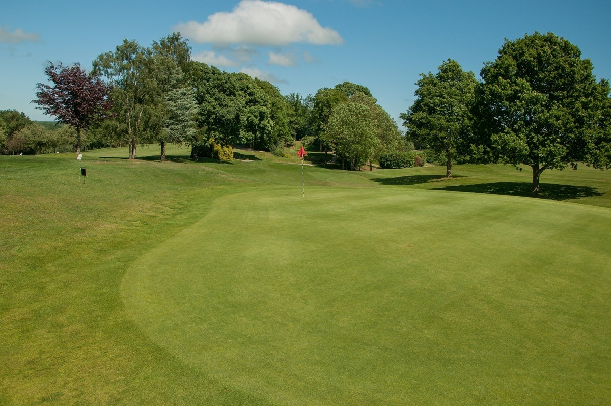 Tenterden Golf Club Hole 18 Green