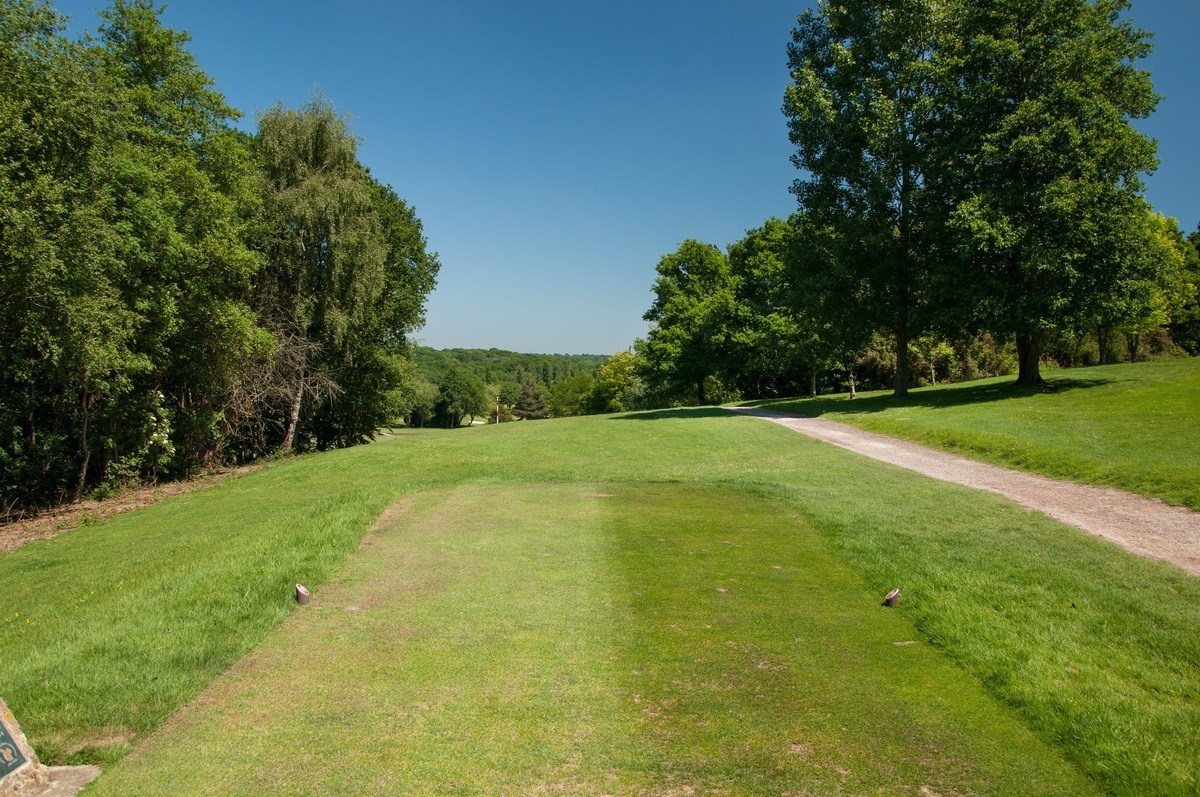 Tenterden Golf Club Hole 2 Tee