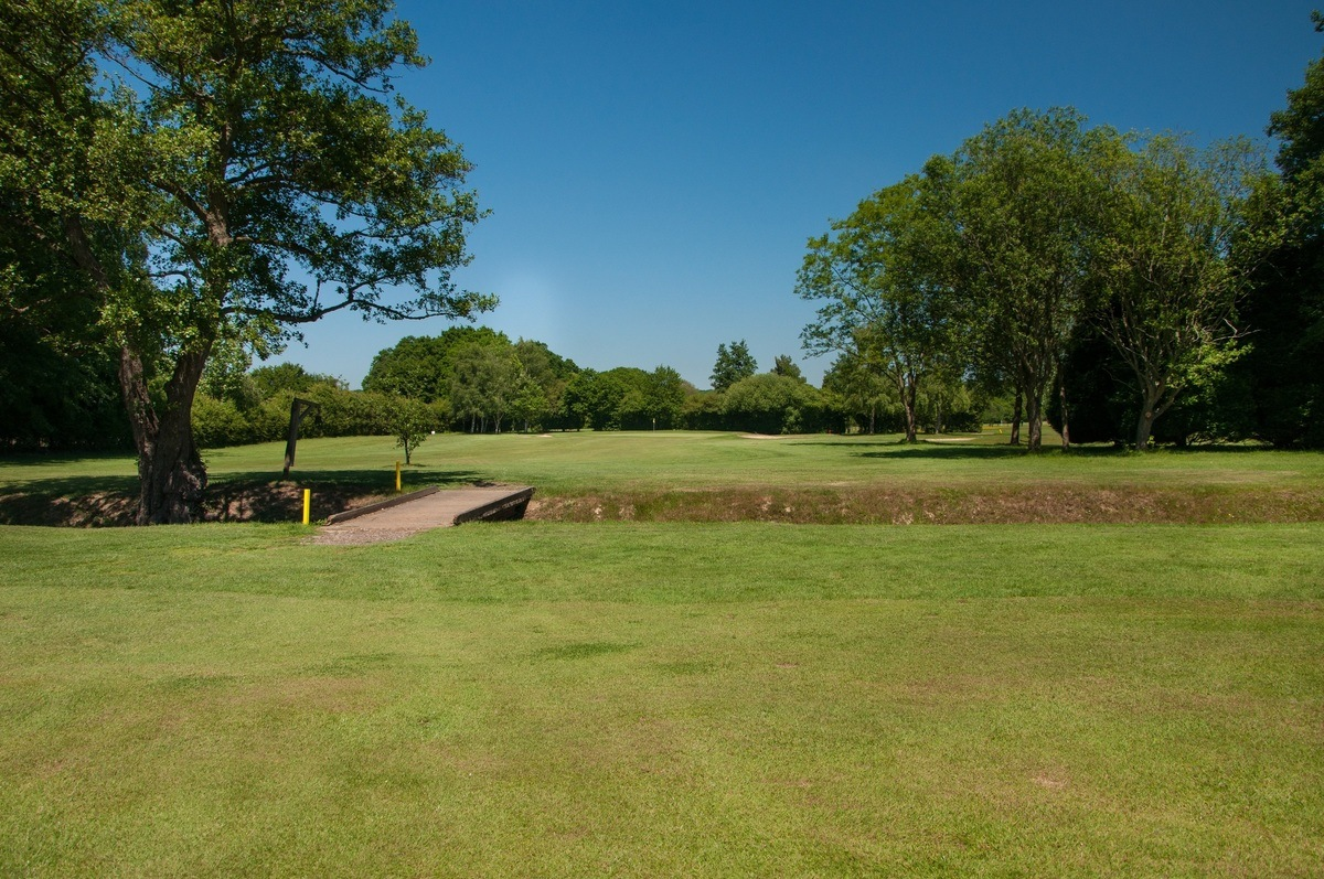 Tenterden Golf Club Hole 2 Fairway