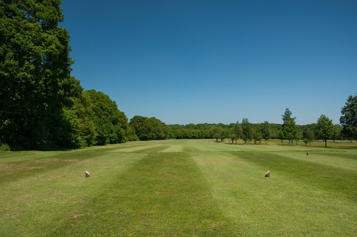 Tenterden Golf Club Hole 3 Tee