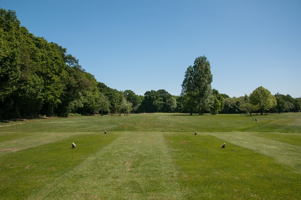 Tenterden Golf Club Hole 4 Tee