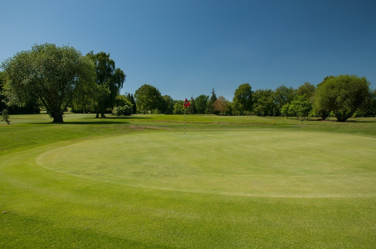 Tenterden Golf Club Hole 7 Green