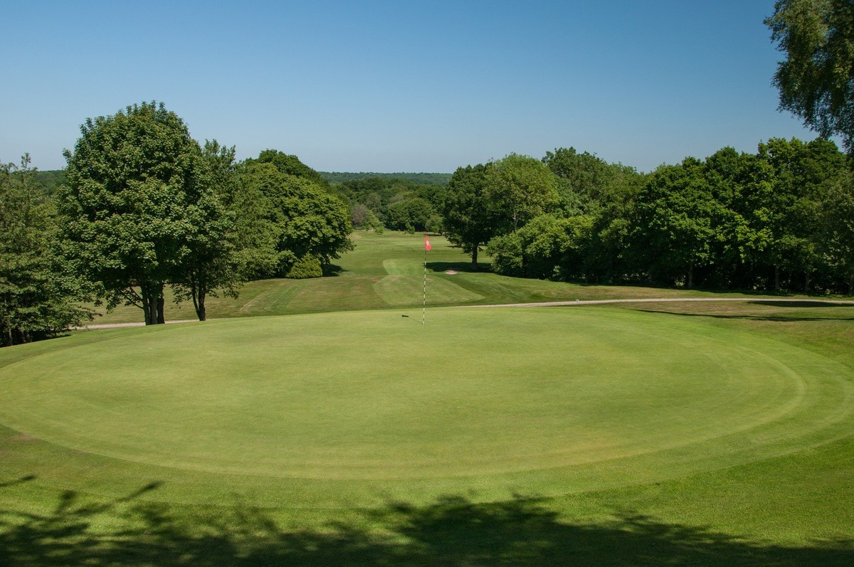 Tenterden Golf Club Hole 8 Green