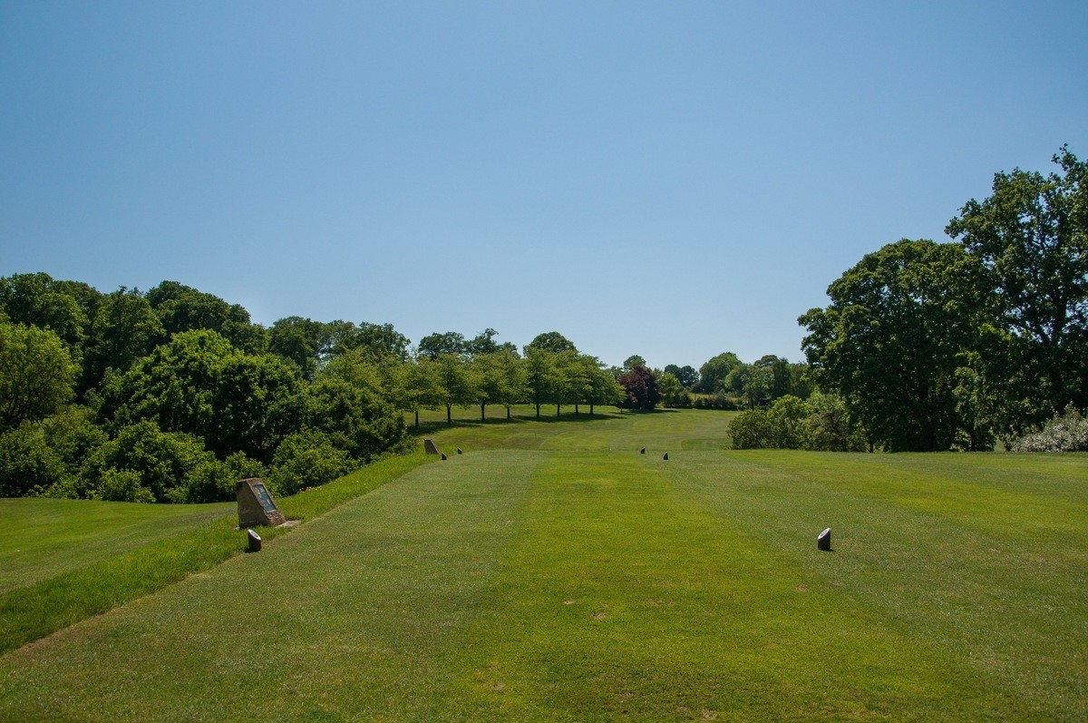 Tenterden Golf Club Hole 9 Tee