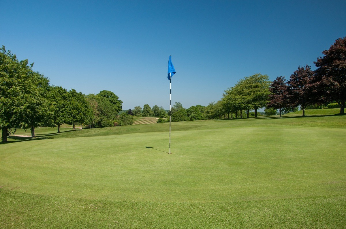 Tenterden Golf Club Hole 9 Green